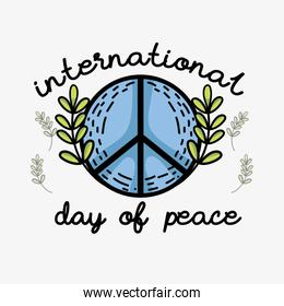 hippie symbol to peace and love