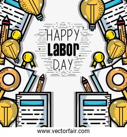 labor day celebration and patriotism holiday