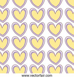 nice heart to love and romance symbol background