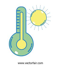 thermometer measure instrument to know the temperature