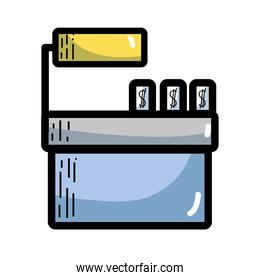 cash register technology to check products