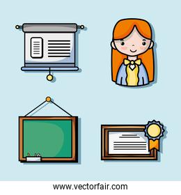 set school tools education to learn