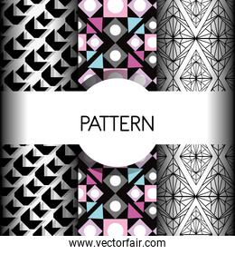 geometric seamless abstract background design
