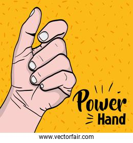 sprong power hand protest revolution