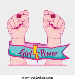 strong power hand protest revolution