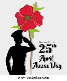 anzac day holiday on 25 april memory