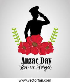 memory soldier to anzac day memory