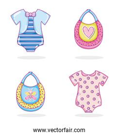 Baby clothes collection