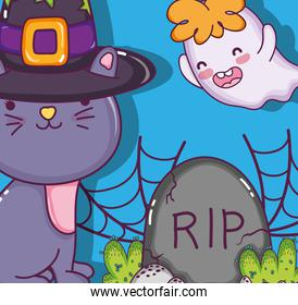 Halloween and kids cartoons