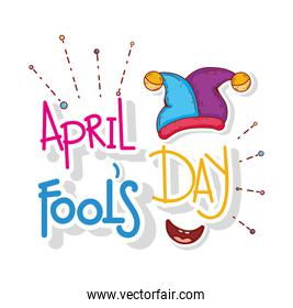 jester hat to april fools day