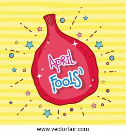 humor whoopee bag to fools day celebration