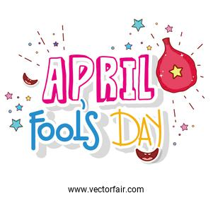 whoopee bag and smiles to fools day