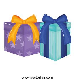 party gifts boxes presents