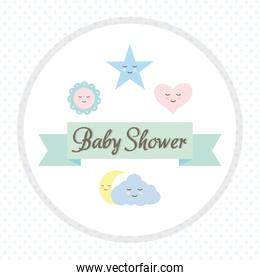 baby toys accessories with ribbon frame