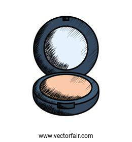 blush make up drawing icon