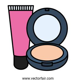 blush and bright make up