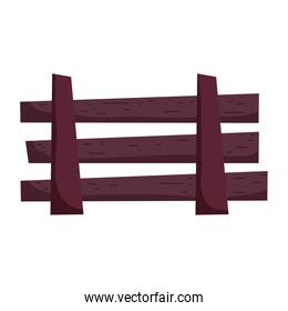 wooden fence rural outdoor icon image