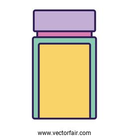 flask jar with cap icon