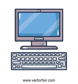 computer device isolated
