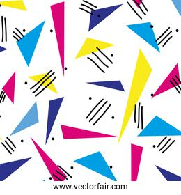 abstract geometric figure style background
