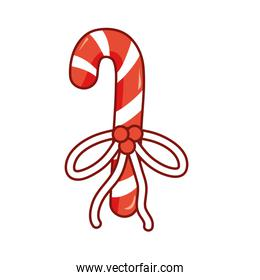 sweet walking stick with ribbon bow design