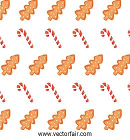 colorful cookie and sweet walking stick background