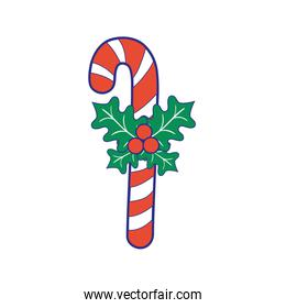 full color sweet walking stick christmas decoration