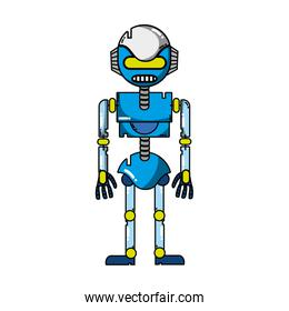 technology robot with robotic body design