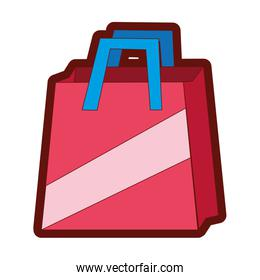 full color shopping bag object to custom shop