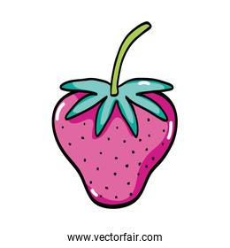 delicious strawberry fresh and organic fruit