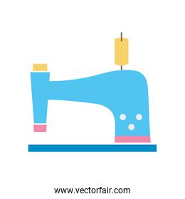 colorful sewing machine fashion industry equipment