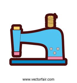 sewing machine industry equipment isolated icon