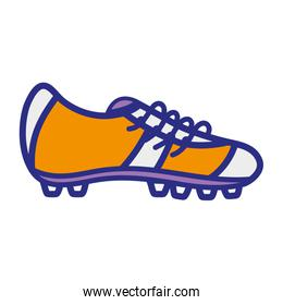 full color cleats object to play american football