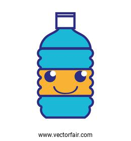 full color happy and tender bottle wather kawaii