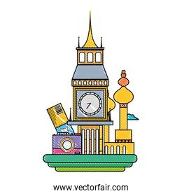 grated big ben and moscow vacation journey