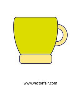 full color coffee cup drink beverage icon