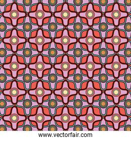 graphic seamless pattern background style