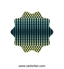 star with graphic seamless style background design
