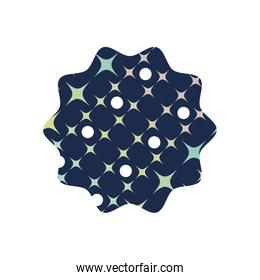 star with graphic seamless decoration background design