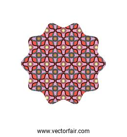star with graphic seamless pattern background style