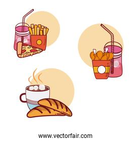 Fast food with combos