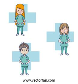 Doctors cartoons collection