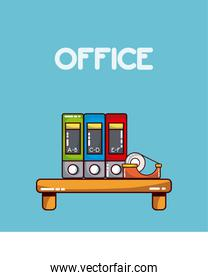 Office workplace elements