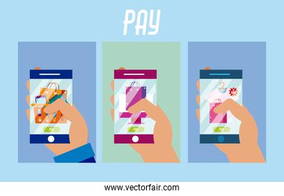 Users using NFC technology