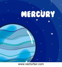 Mercury milkyway planet