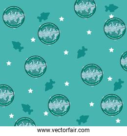 Mercury planets background cartoons