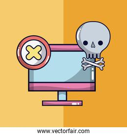 Virus and security system technology