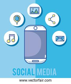 Smartphone and social media
