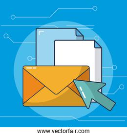 Sending email concept