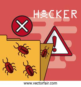 Hacker and cyber security